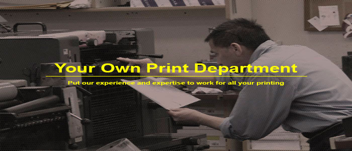 Put our expertise and experience to work for all your printing.