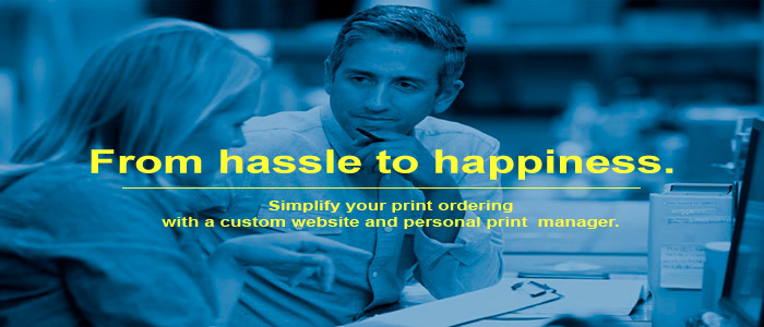 A Custom Print Portal and A Personal Print Manager to change your printing from a hassle to happiness.